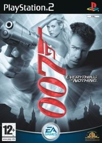 James Bond 007: Everything or Nothing (PS2) - okladka