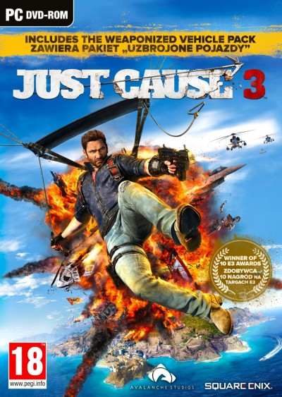 Just Cause 3 (PC) - okladka