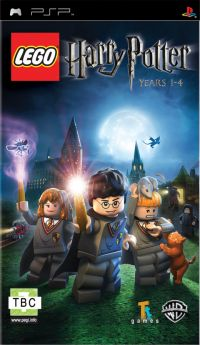 LEGO Harry Potter: Years 1-4 (PSP) - okladka