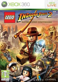 LEGO Indiana Jones 2: The Adventure Continues (Xbox 360) - okladka