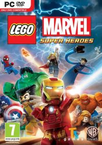 LEGO Marvel Super Heroes (PC) - okladka