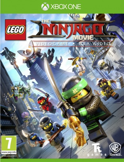LEGO Ninjago Movie: Gra Wideo (Xbox One) - okladka