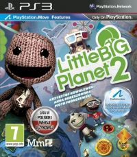 LittleBigPlanet 2 (PS3) - okladka