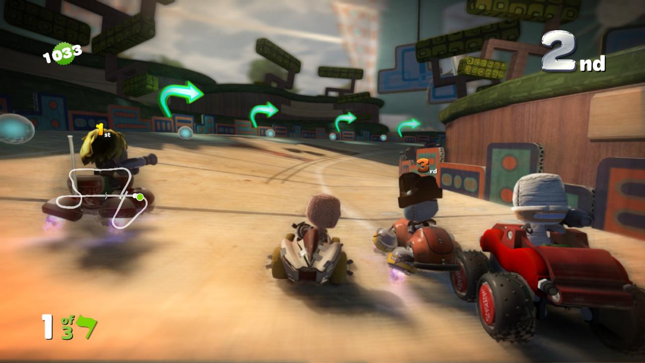 Littlebigplanet  Car Race