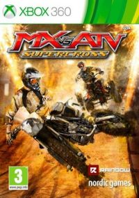 MX vs. ATV: Supercross (X360) - okladka