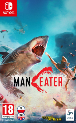 Maneater (SWITCH) - okladka