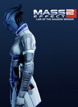 Mass Effect 2: Lair of the Shadow Broker (PC) - okladka