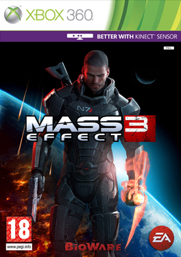 Mass Effect 3 (X360) - okladka