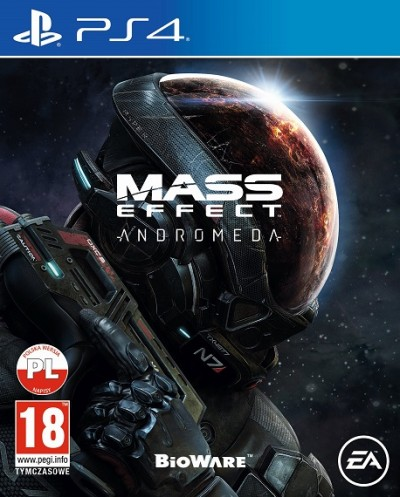Mass Effect: Andromeda (PS4) - okladka