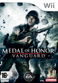Medal of Honor: Vanguard (WII) - okladka
