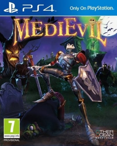 MediEvil (PS4) - okladka