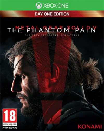 Metal Gear Solid V: The Phantom Pain (Xbox One) - okladka