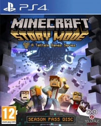 Minecraft: Story Mode (PS4) - okladka