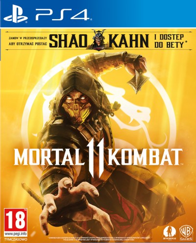 Mortal Kombat 11 (PS4) - okladka