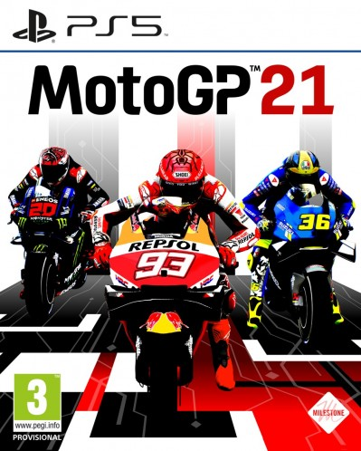MotoGP 21 (PS5) - okladka