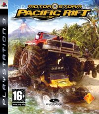 MotorStorm: Pacific Rift (PS3) - okladka