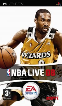 NBA Live 08 (PSP) - okladka