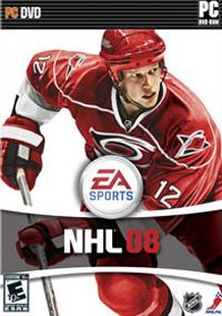 NHL 08 (PC) - okladka