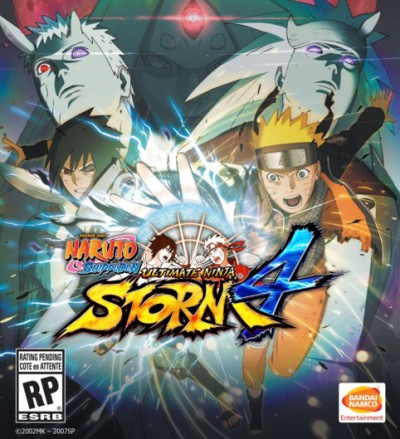 Naruto Shippuden: Ultimate Ninja Storm 4 (PC) - okladka