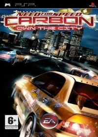 Need for Speed: Carbon (PSP) - okladka