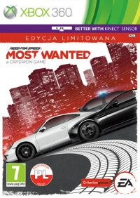 Need for Speed: Most Wanted 2012 (Xbox 360) - okladka