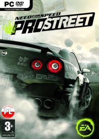 Need for Speed ProStreet (PC) - okladka