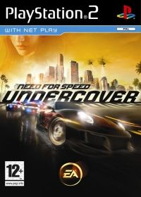 Need for Speed: Undercover (PS2) - okladka