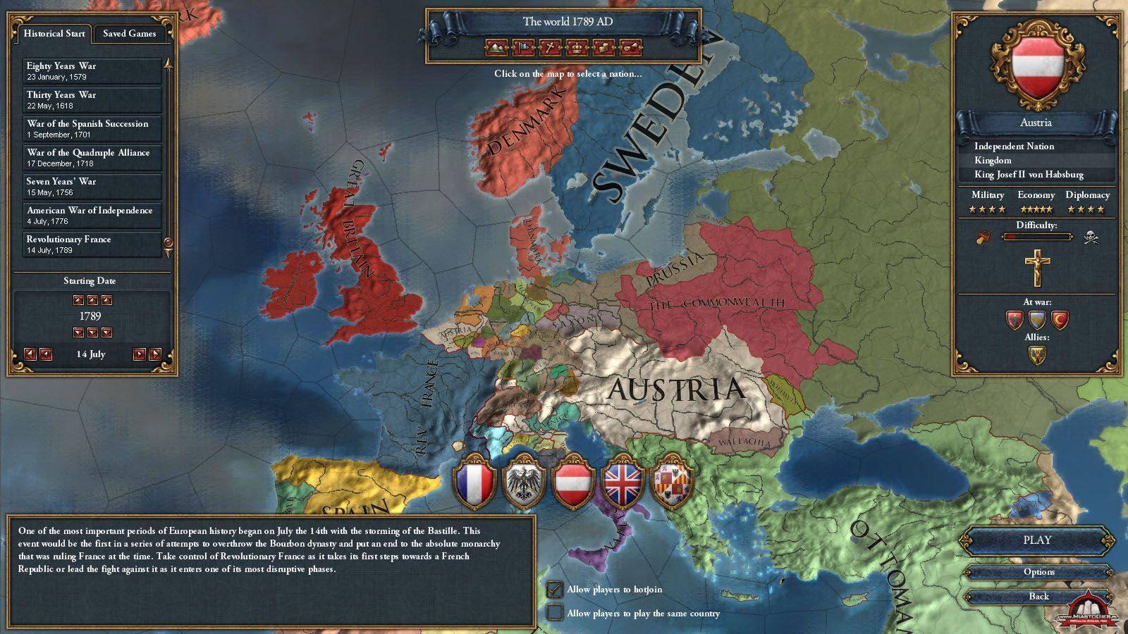 Europa universalis 4 дипломатическая репутация - ca