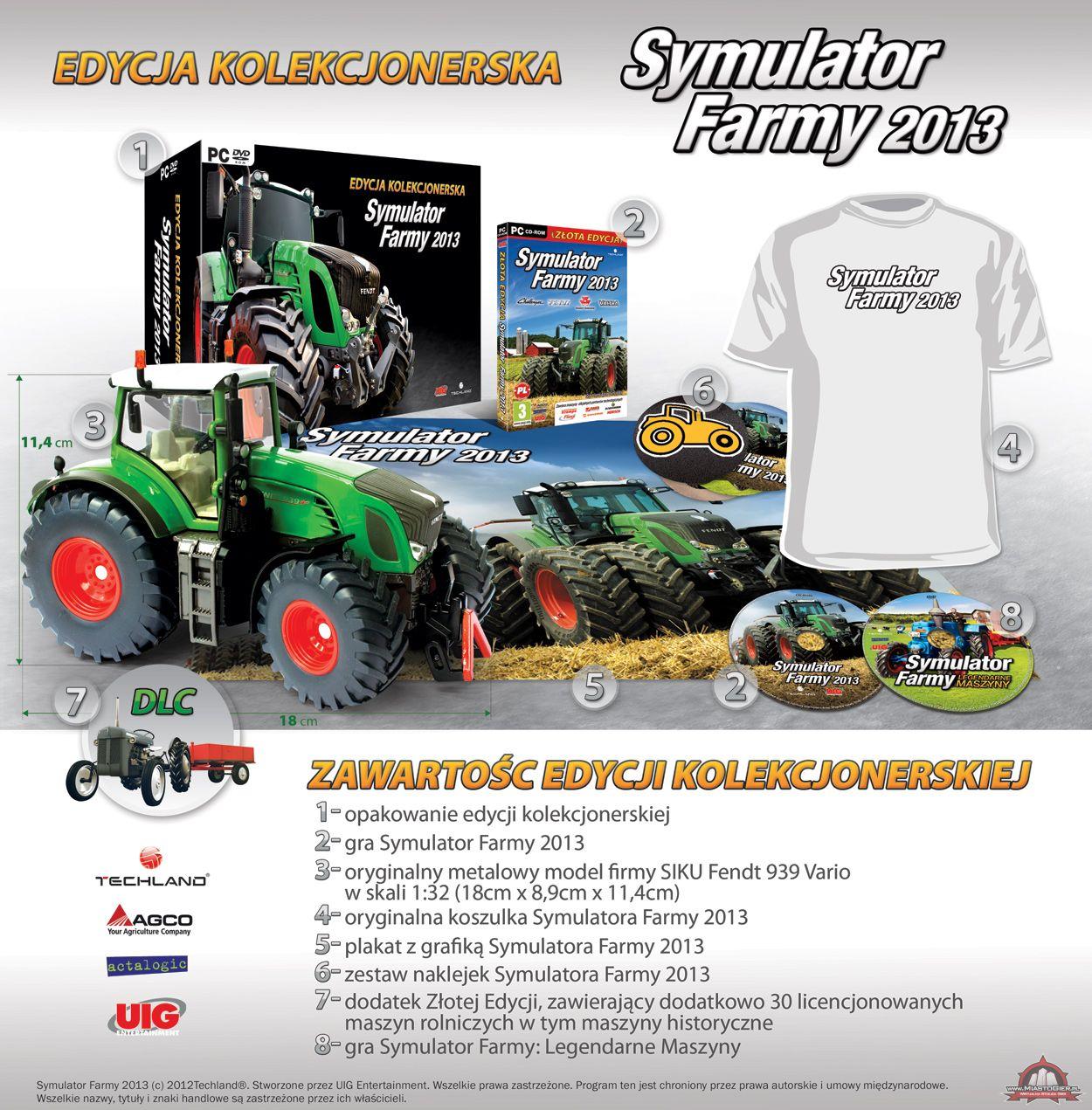 Symulator Farmy 2013 ma ciągnik w edycji kolekcjonerskiej