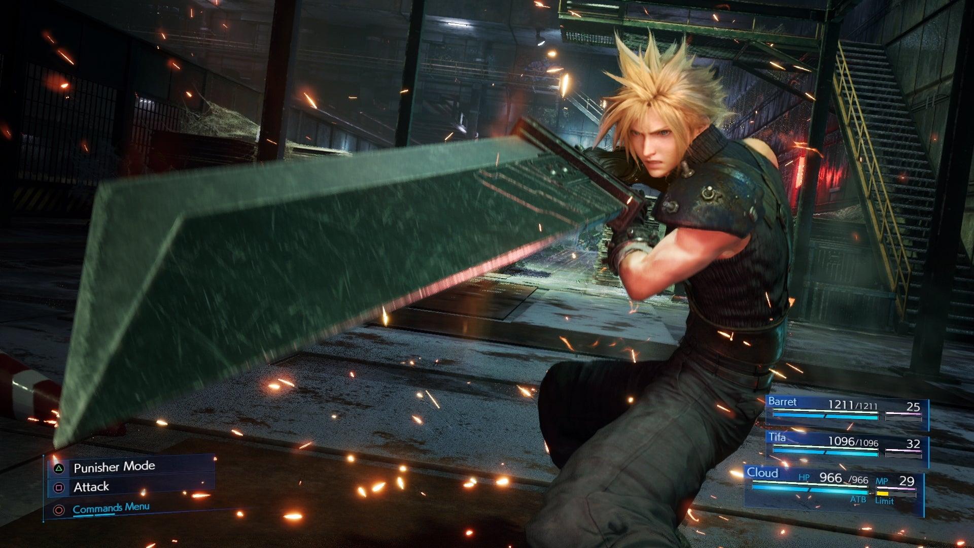 randki Final Fantasy VII