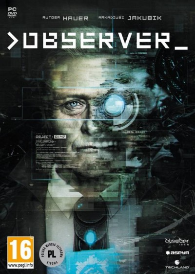 Observer (PC) - okladka