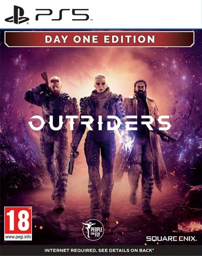 Outriders (PS5) - okladka
