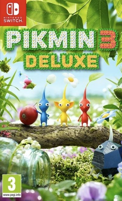 Pikmin 3 (SWITCH) - okladka