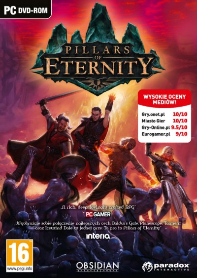 Pillars of Eternity (PC) - okladka