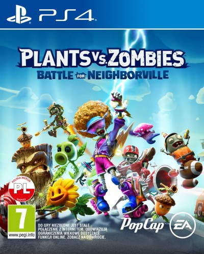 Plants vs. Zombies: Battle for Neighborville (PS4) - okladka