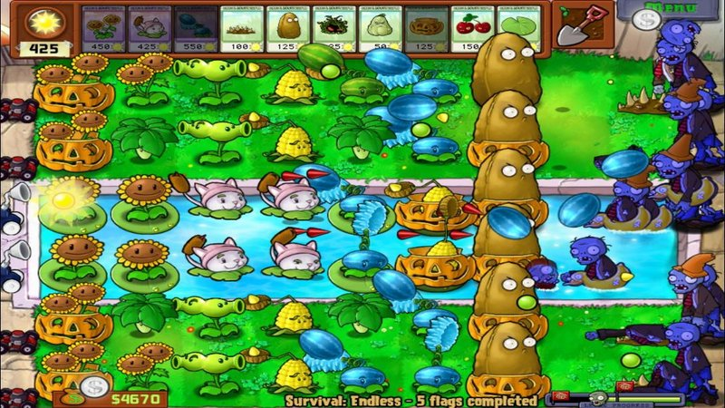juegos de plants vs zombies gratis