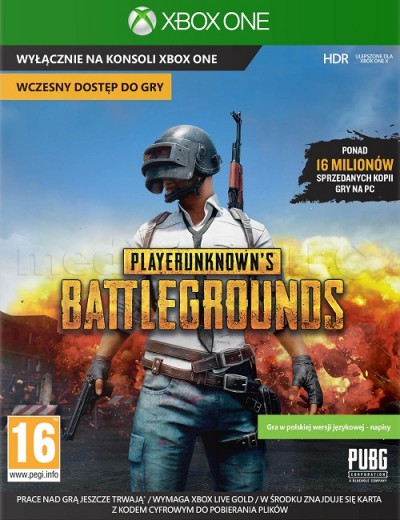 Playerunknown's Battlegrounds (XBOXONE) - okladka