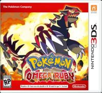 Pokemon Omega Ruby (3DS) - okladka