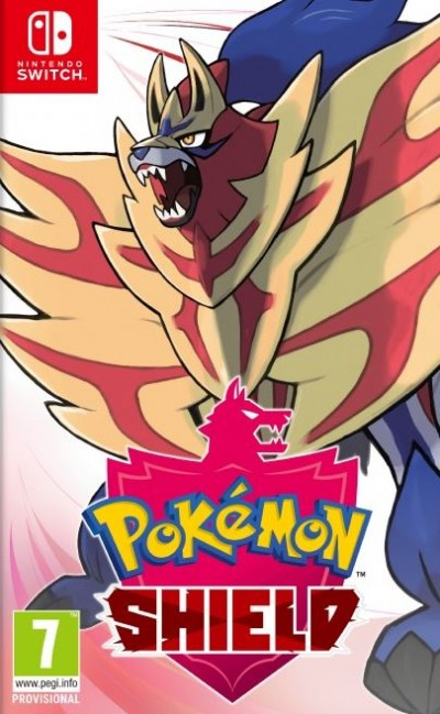 Pokemon Shield (SWITCH) - okladka