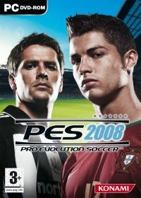 Pro Evolution Soccer 2008 (PC) - okladka