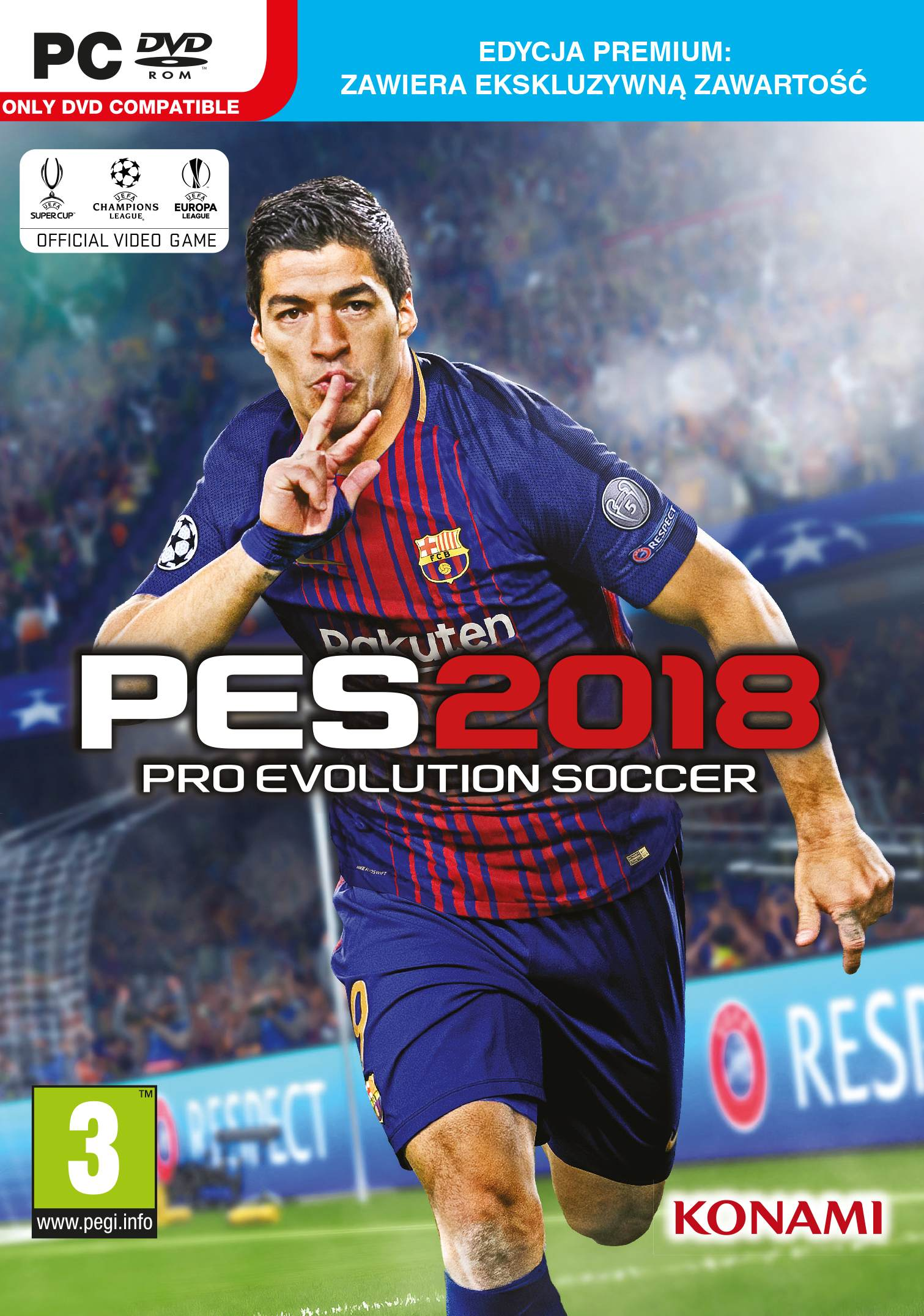 Pro Evolution Soccer 2018 (PC) - okladka