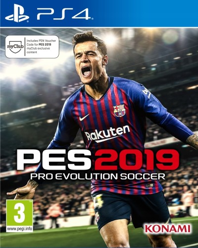 Pro Evolution Soccer 2019 (PS4) - okladka