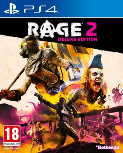 RAGE 2  (PS4) - okladka
