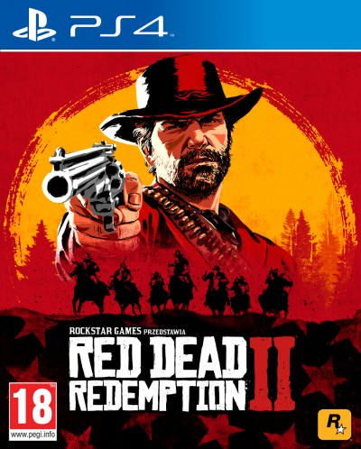 Red Dead Redemption II (PS4) - okladka