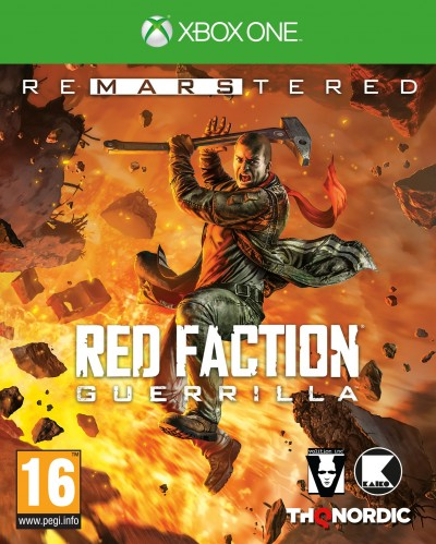 Red Faction: Guerrilla Re-Mars-tered (Xbox One) - okladka