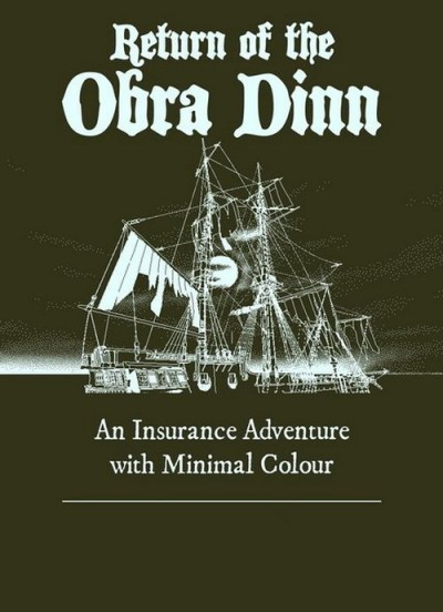 Return of the Obra Dinn (Xbox One) - okladka
