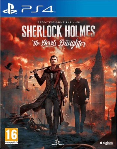 Sherlock Holmes: The Devil's Daughter (PS4) - okladka