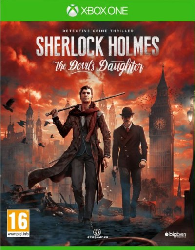 Sherlock Holmes: The Devil's Daughter (XBOXONE) - okladka