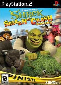 Shrek Smash n' Crash Racing (PS2) - okladka
