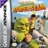 Shrek SuperSlam (GBA) - okladka